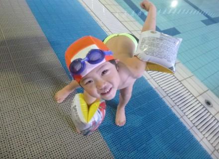 ディーズは水泳を安全に学べます!