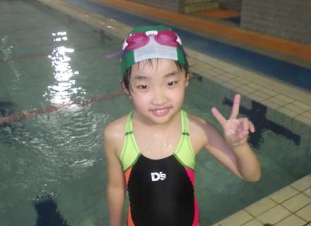 泳ぐの大好き!!