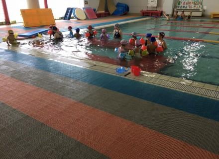 最後の短期水泳教室